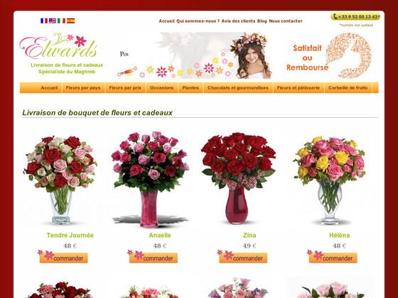 soci t elwards livraison fleurs tunisie. Black Bedroom Furniture Sets. Home Design Ideas