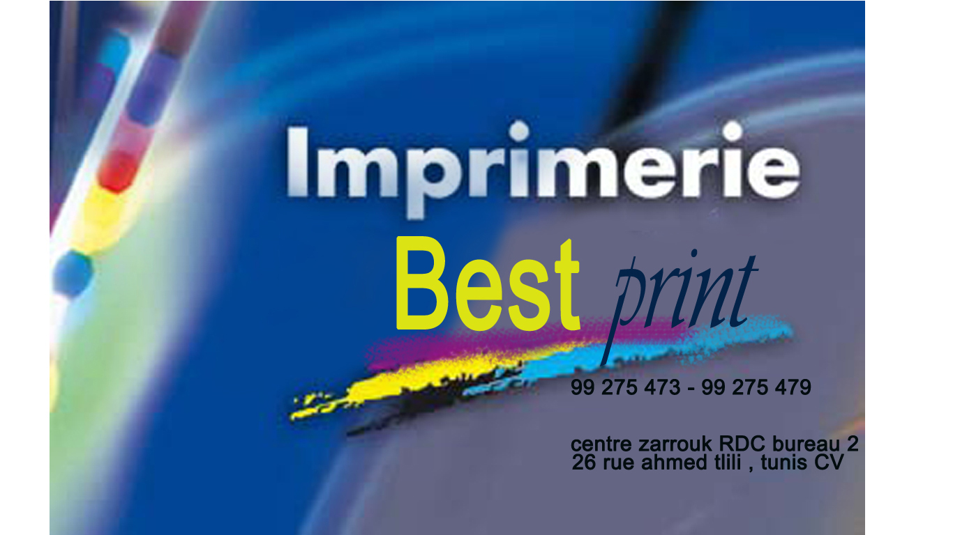 Societe IMPRIMERIE BEST Print